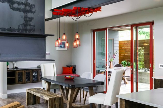 allmodern industrial dining room