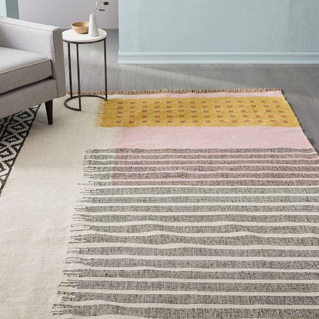 dining room rug idea with an outdoor option