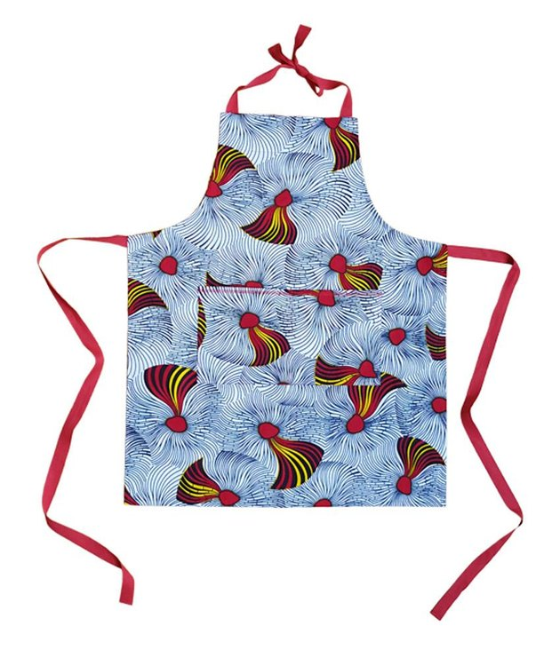 Royal Jelly Harlem Johnny Apron in Hibiscus