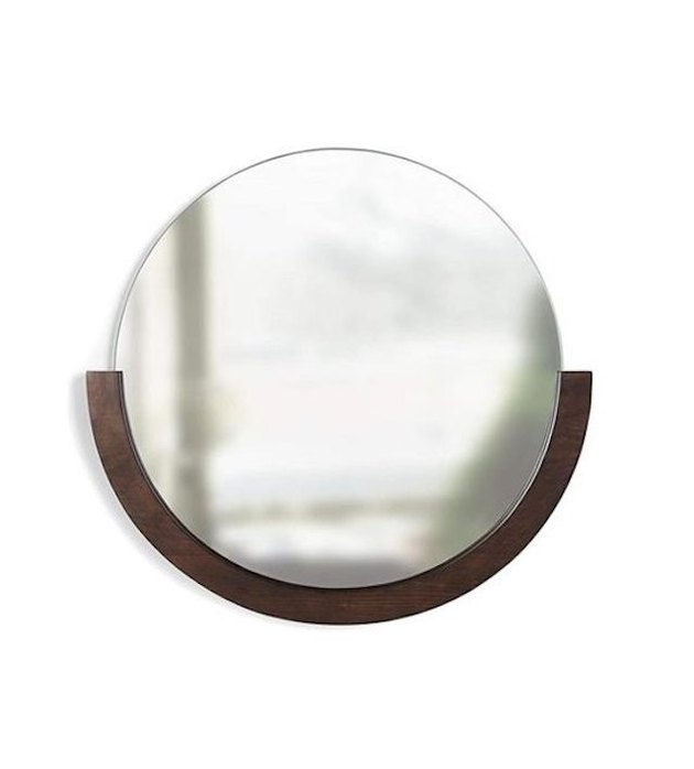 Umbra Mira Mirror, Aged Walnut, $67.22
