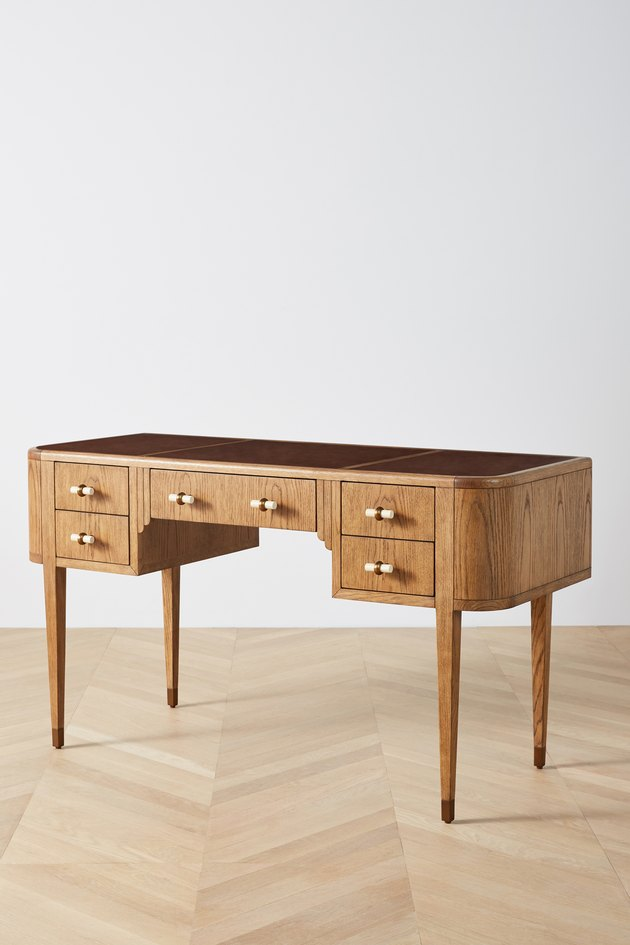 classical wood desk
