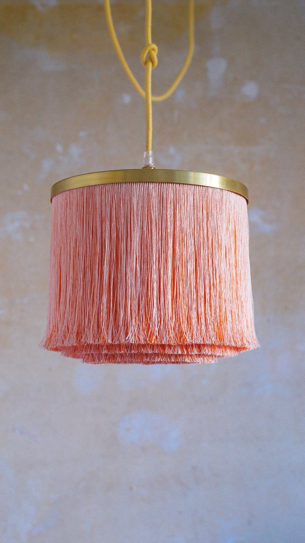 fringe lamp shade