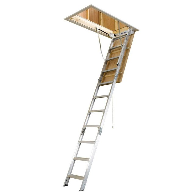 aluminum attic ladder