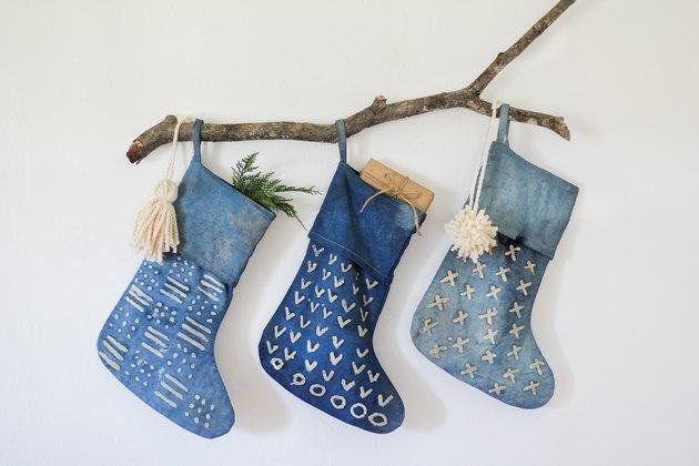 indigo stockings