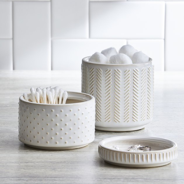 Better Homes & Gardens Modern Farmhouse 3 piece Covered Jar Set, $18.97