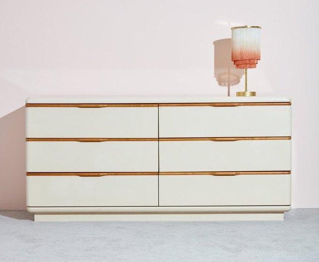vintage 80s dresser