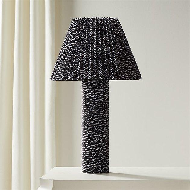 CB2 Scrunch Table Lamp, $149