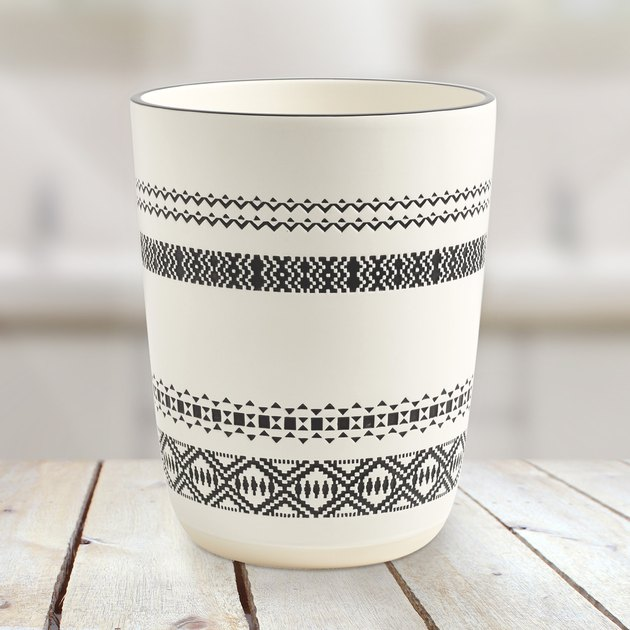 Better Homes & Garden Patterned Wastebasket, $19.88