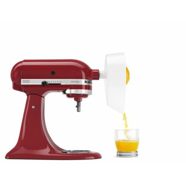 red kitchenaid citrus juicer