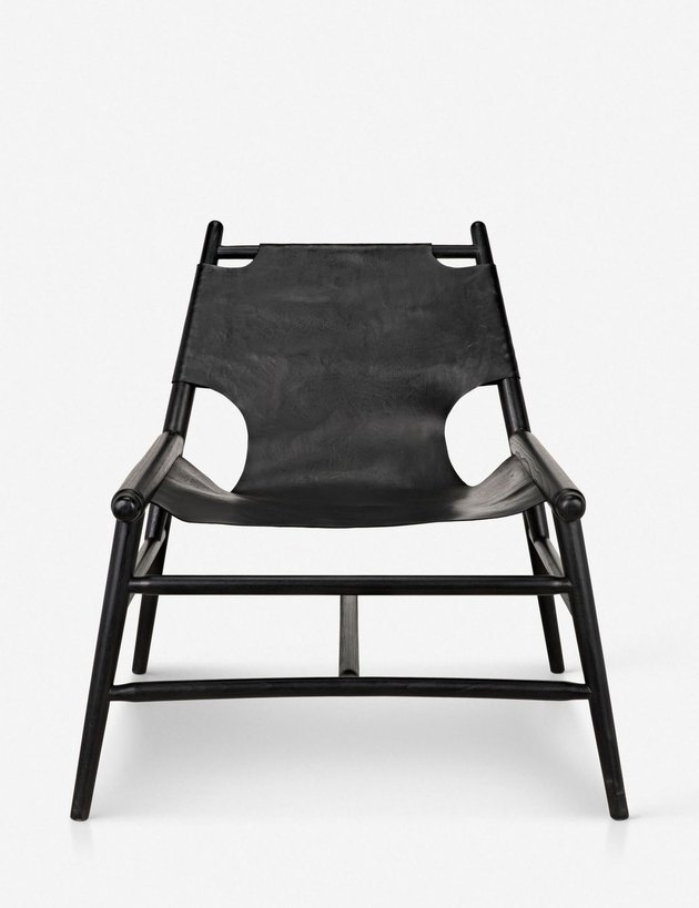 Lulu and Georgia Hamisi Leather Accent Chair