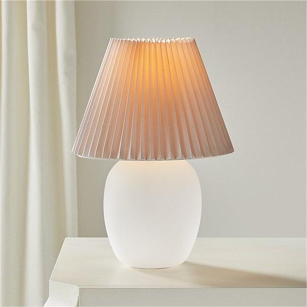 CB2 Alluretable Lamp, $119