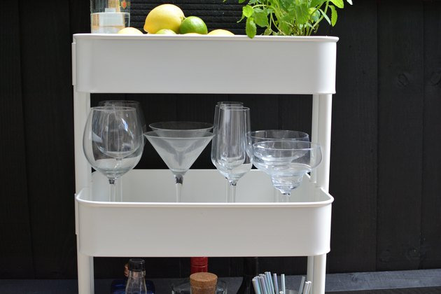 IKEA bar cart