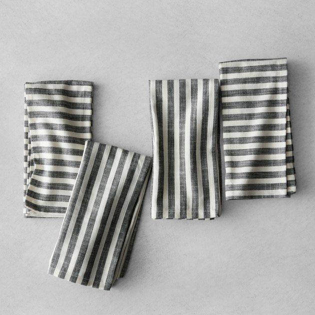 hearth and hand striped napkins