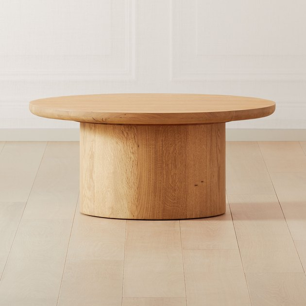 CB2 x GQ Justice Oak Coffee Table