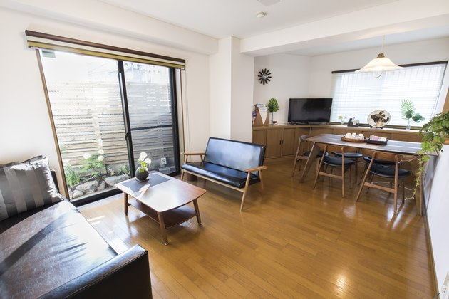 japanese apartment living and dining room