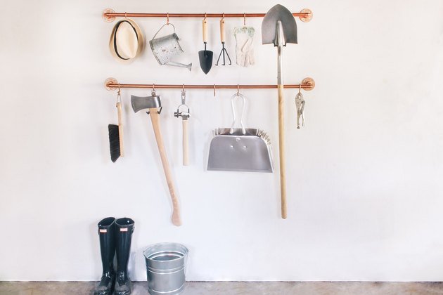 Garage Organization Tips and Tricks with diy wall storage