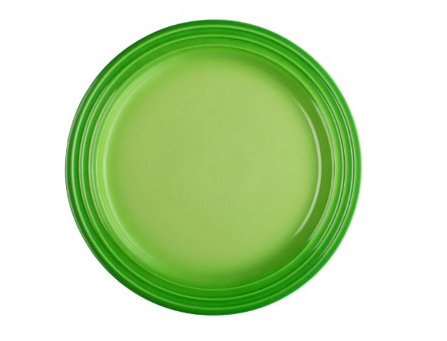 green salad plate