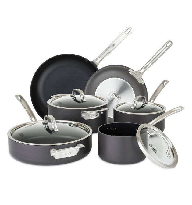 Nordstrom Anniversary Sale Viking Hard Anodized Nonstick 10-Piece Cookware Set