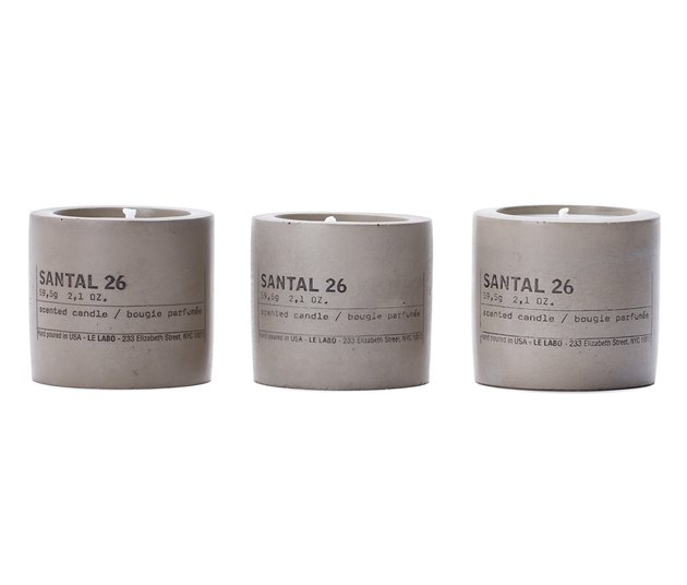 Nordstrom Anniversary Sale Le Labo Santal 26 Set of 3 Concrete Votives