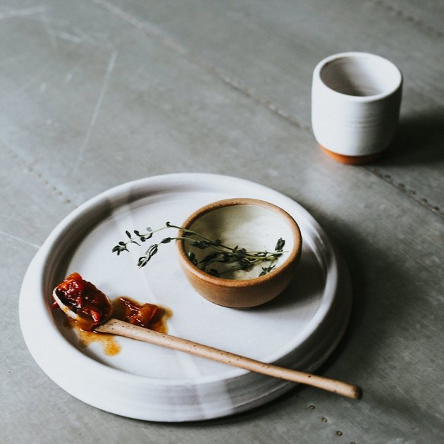 handmade ceramic pinch bowl