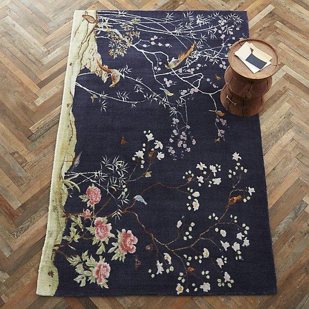chinoiserie rug