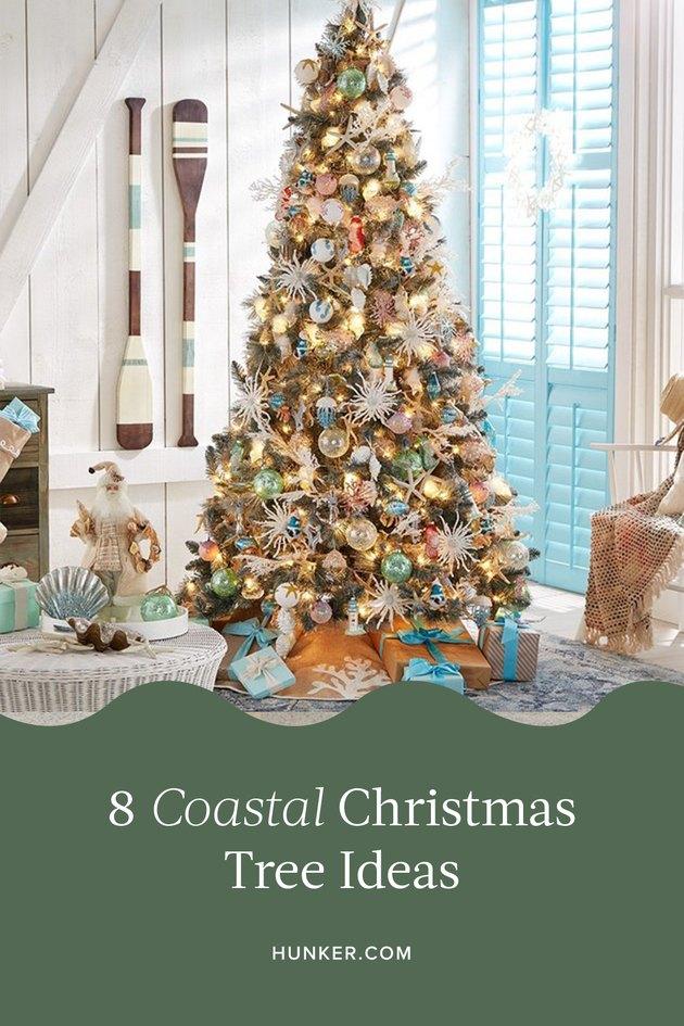 Coastal Christmas Tree Ideas and Inspiration