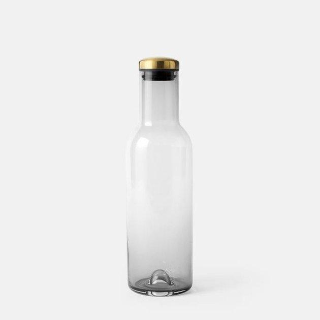 Menu Smoked Glass Bottle, $90