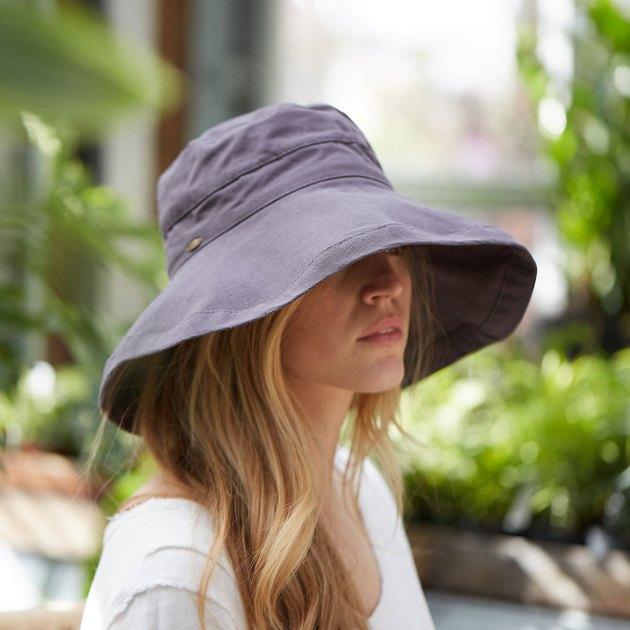 terrain cotton crusher hat in grey