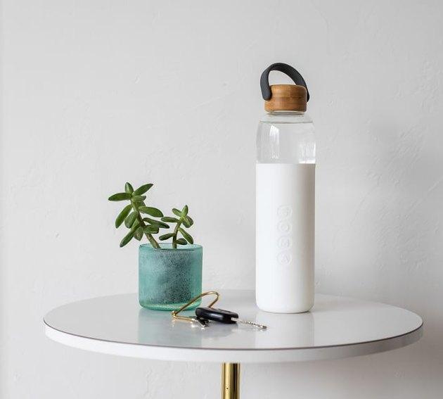 Soma Glass Water Bottle, $40