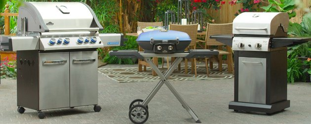 Selection of barbecue units.