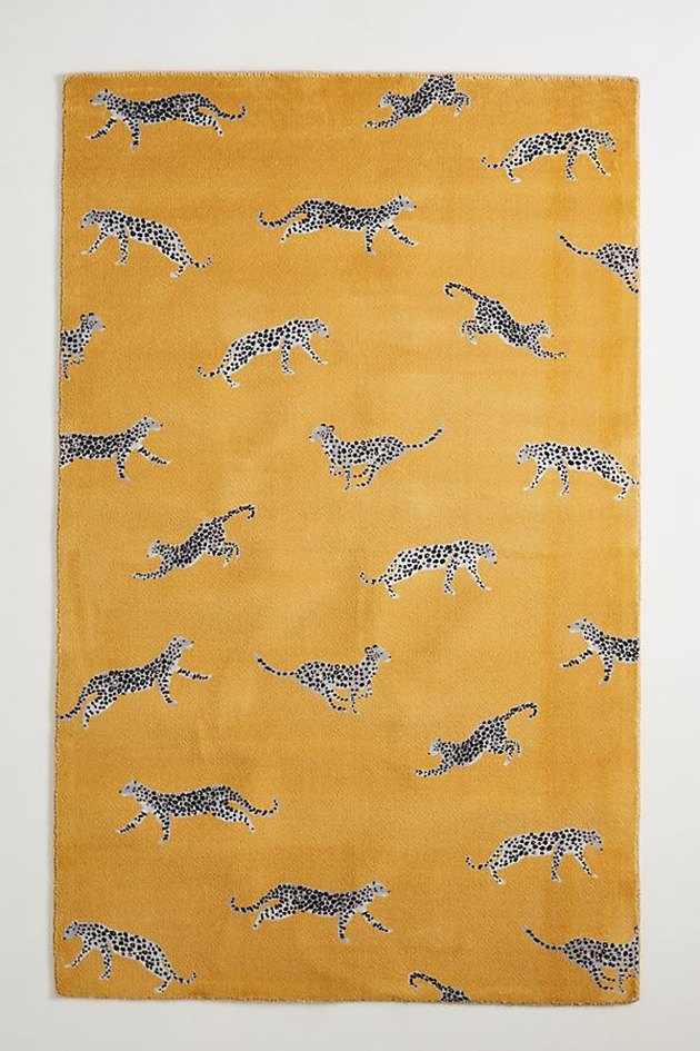 Anthropologie Cheetah Rug, starting at $68