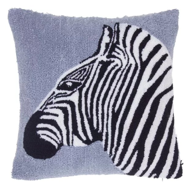 14 Karat Home Safari Zebra Throw Pillow, $26.99