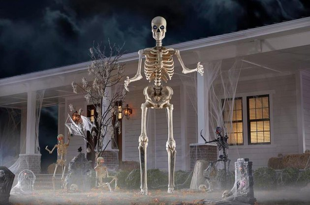 Home Accents Holiday Giant 12-Foot Skeleton with LCD Eyes