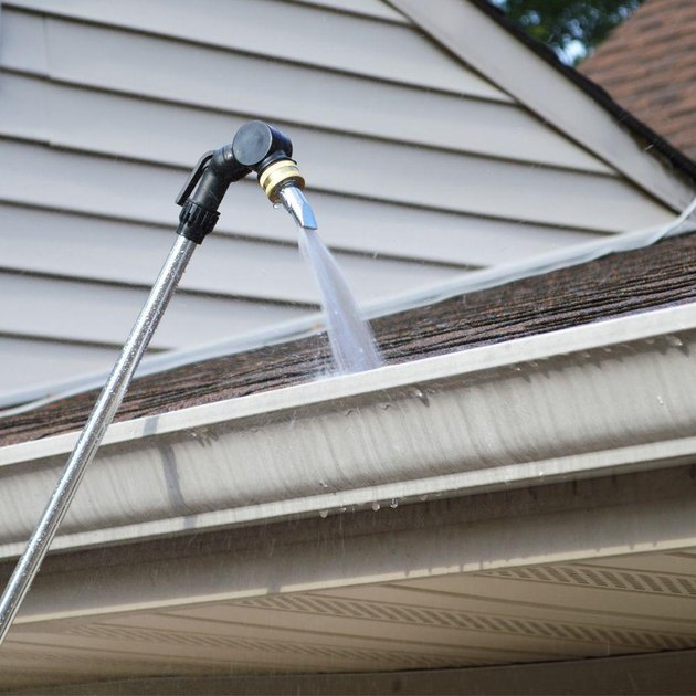 Gutter cleaning wand.