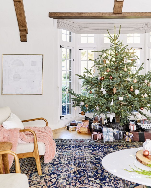 Christmas tree with no tree topper Christmas Tree Topper Ideas