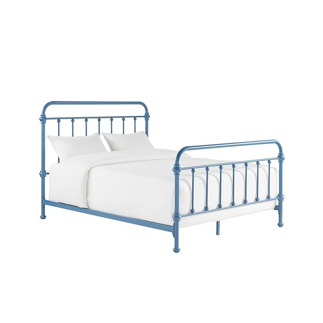 overstock giselle metal bed