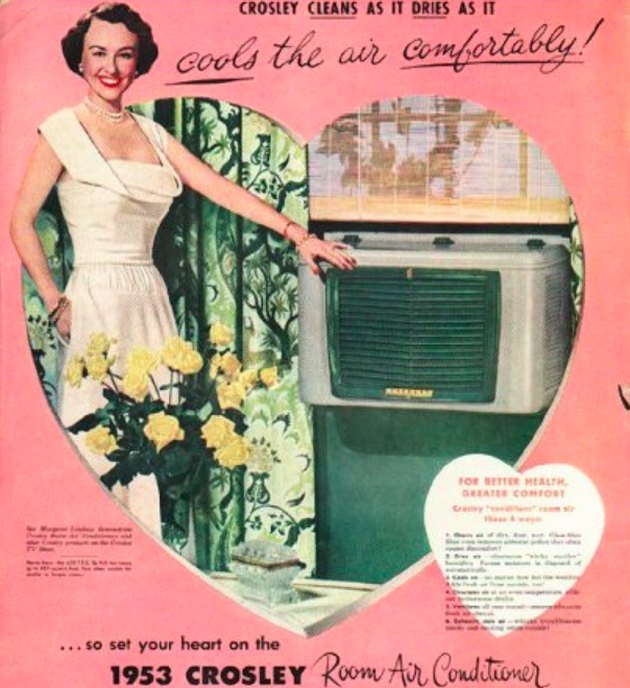 vintage air conditioning ad
