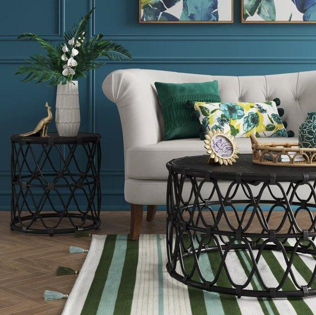 Opalhouse Jewel Round Coffee & Side Table Set