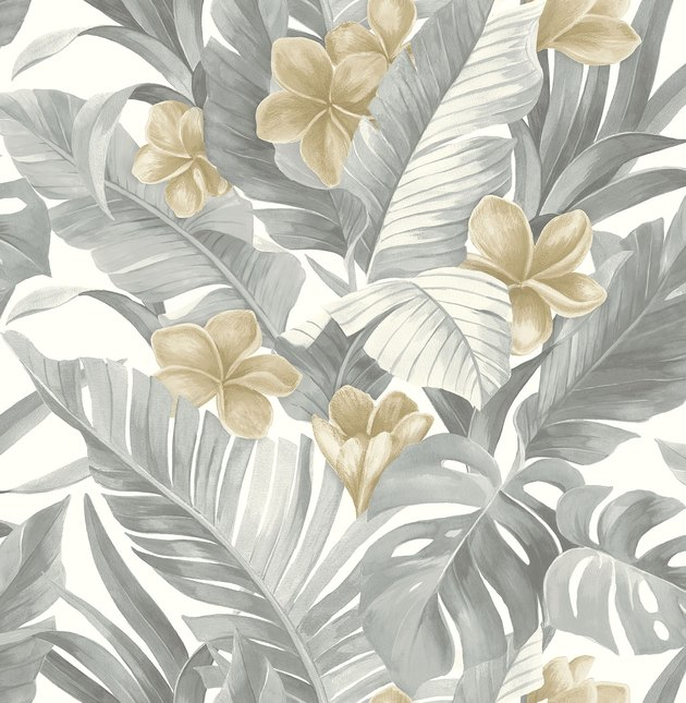NuWallpaper Neutral Paradise Peel & Stick Wallpaper