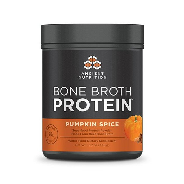 Ancient Nutrition Pumpkin Spice Bone Broth Protein, $44.95