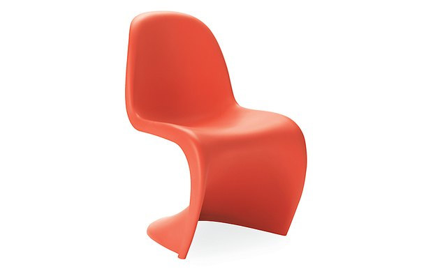 red Verner Panton chair