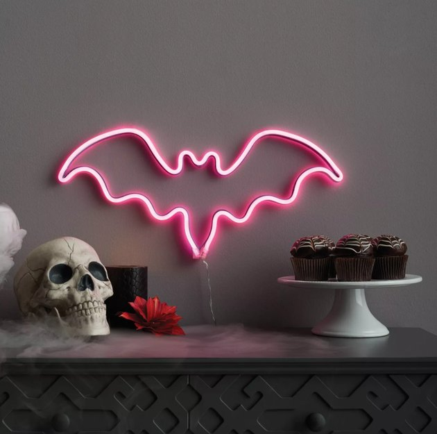 Bat Neon Light