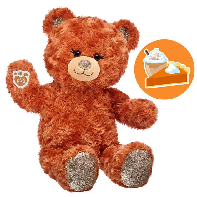 Build-A-Bear Workshop Pumpkin Spice Scented Teddy Bear