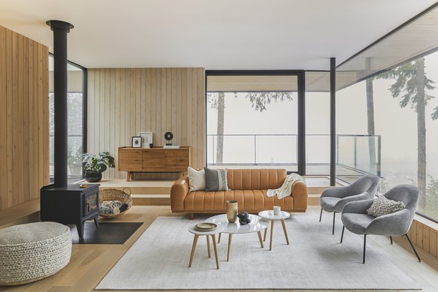 scandinavian-modern living room