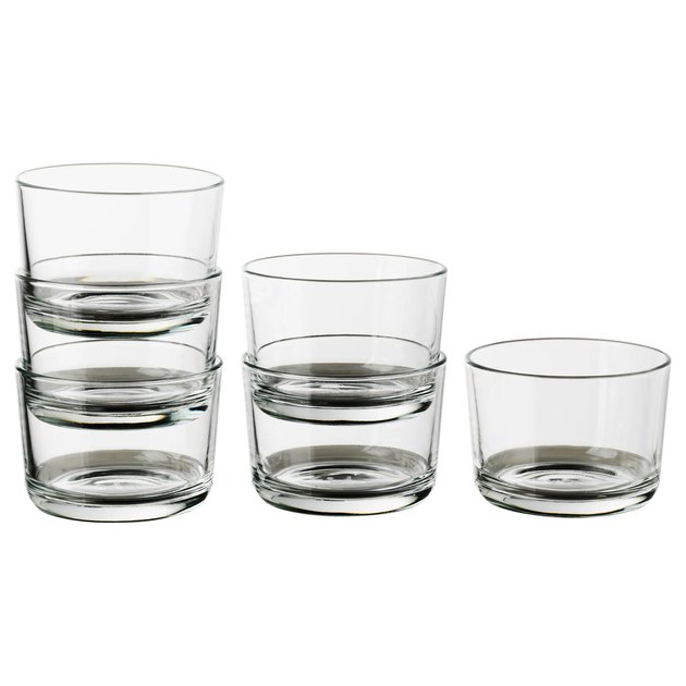 ikea short glasses