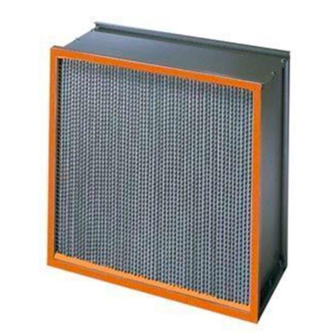 A HEPA air filter.