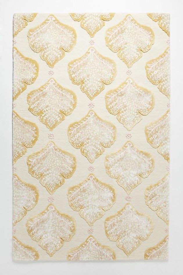 tufted foliage rug