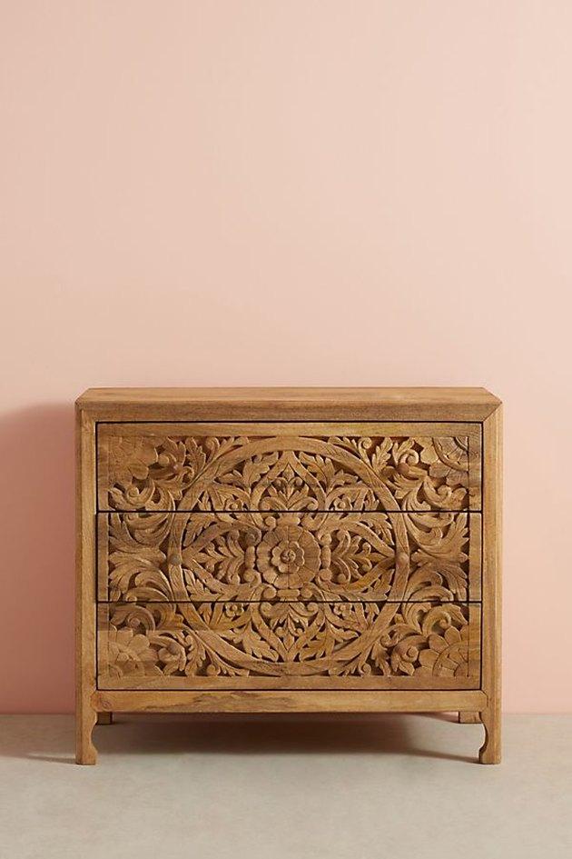 lombok three drawer dresser
