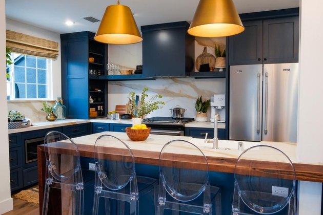 overhead cabinet light ideas