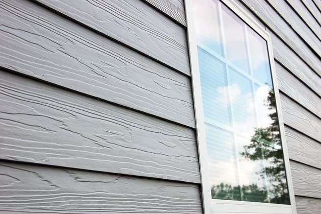 Fiber cement siding detail